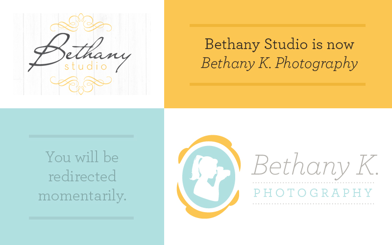 Bethany Studio is now Bethany K. Photography
